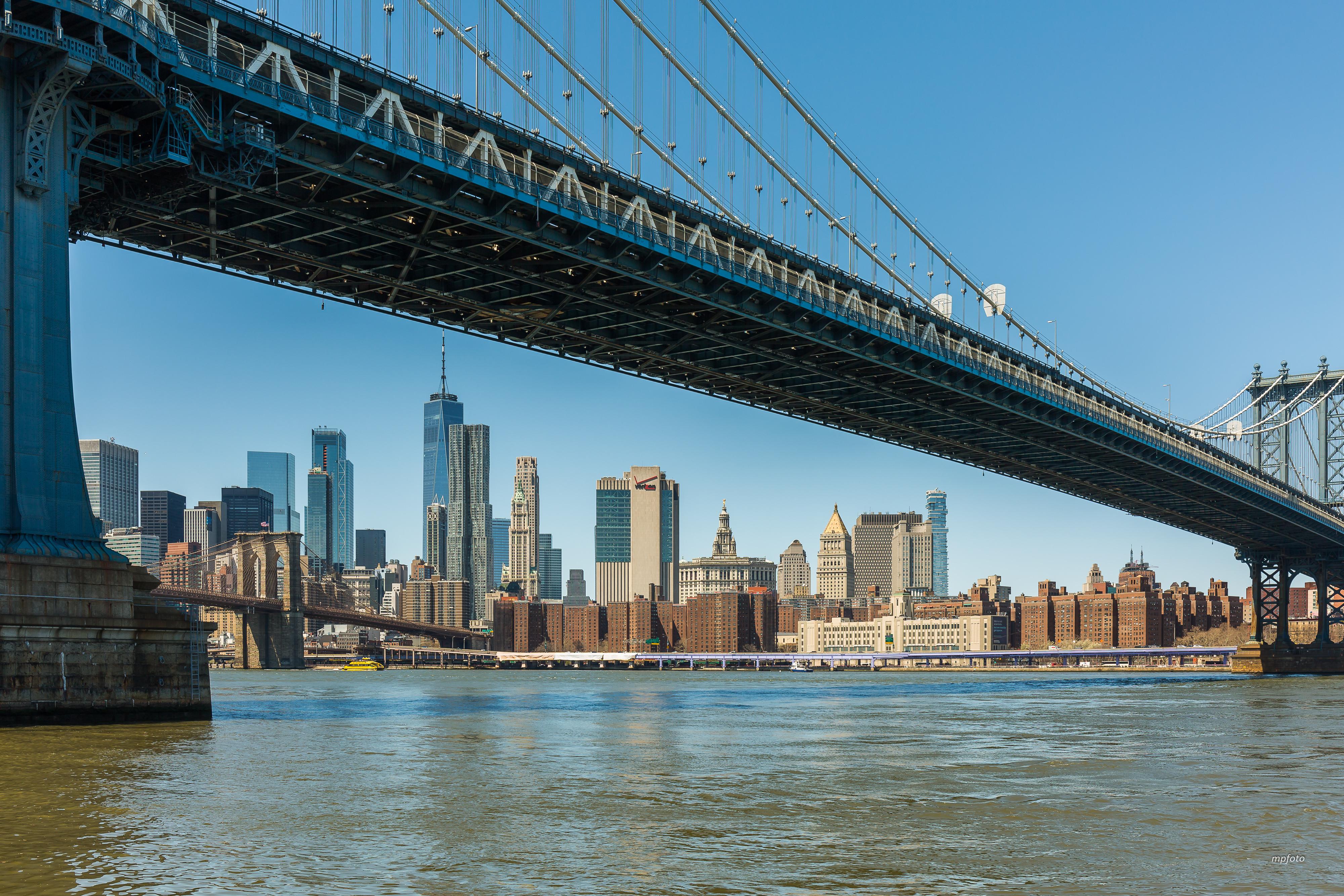 New-York sous le pont